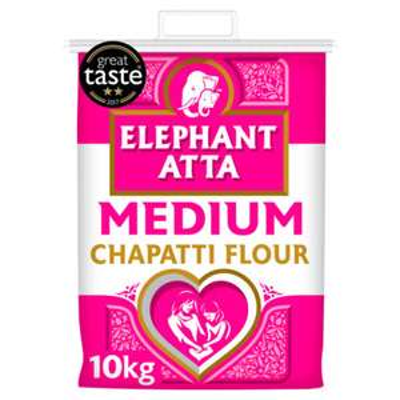 Elephant Atta Medium Chapatti Flour 10kg £5 @ asda