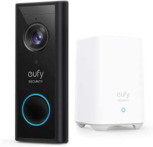Eufy Video Doorbell 2K (Battery-Powered) With HomeBase £134 at Very - free Click and Collect / £3.99 delivery