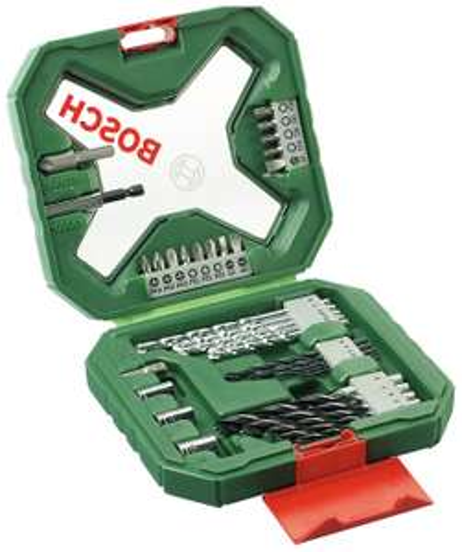 Bosch 34 Piece X-Line Classic Drill and Screwdriver Bit Set £9 at Argos