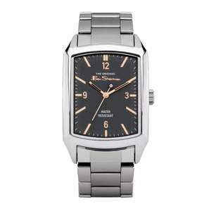 Ben Sherman Men's Silver Coloured Bracelet Watch with 2 years guarantee - £19.99 click & collect @ Argos