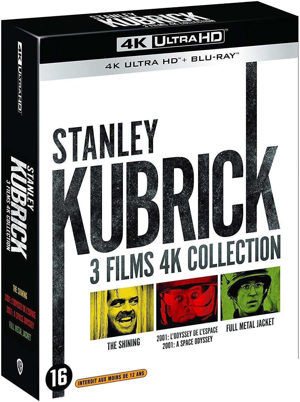 Stanley Kubrick 2001 / Full Metal Jacket / Shining 4K Ultra HD & Blu Ray £31.39 Delivered @ Amazon France