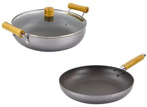 Scoville Go Eco 28cm Shallow Casserole with Lid - £12 or 28cm Frying Pan - £10 @ Asda