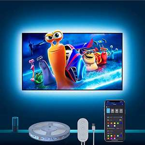 3m WiFi RGB LED TV Backlights(for 46-60 inch TVs) - Works With Alexa & Google £16.39 delivered, Sold by Govee UK and Fulfilled by Amazon