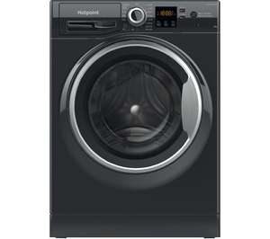 HOTPOINT Core NSWR 843C BS UK N 8 kg 1400 Spin Washing Machine – Black £269 Currys PC World