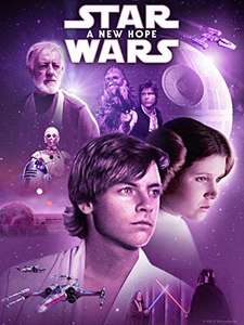 Star Wars episodes 1-9, Rogue one and Solo. All 4K UHD. £4.99 each @ Amazon Prime video