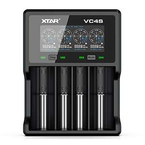 XTAR VC4S Battery Charger £14.82 Amazon Prime +£4.49 NP (UK Mainland) Sold by Amazon EU @ Amazon