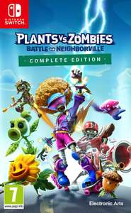 Plants vs Zombies: Battle For Neighborville Nintendo Switch Game £17.99 Argos (available for Click&Collect)