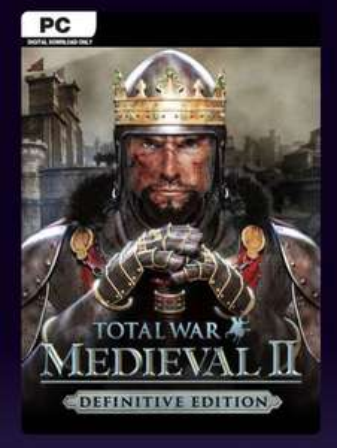 Total war: medieval ii - definitive edition pc (eu) £4.99 @ CD Keys