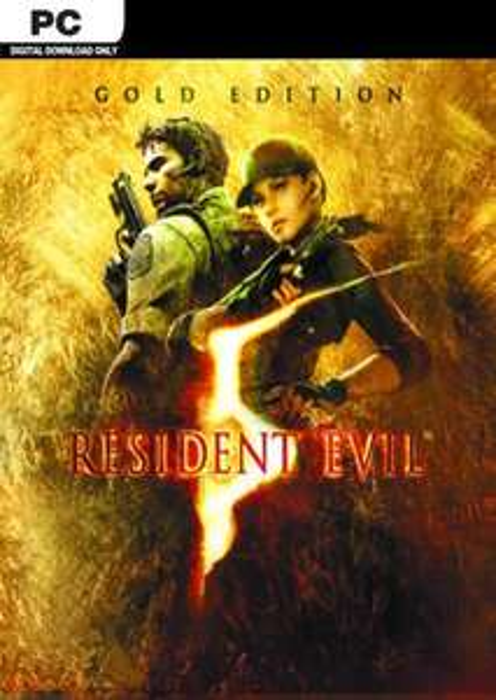 Resident evil 5 gold edition pc £3.79 at CDKeys