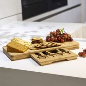 Roov lightning deals this week (e.g. M&W Bamboo Cheese Board Serving Platter With Knife Set for £10.94 delivered) and lots more @ Roov