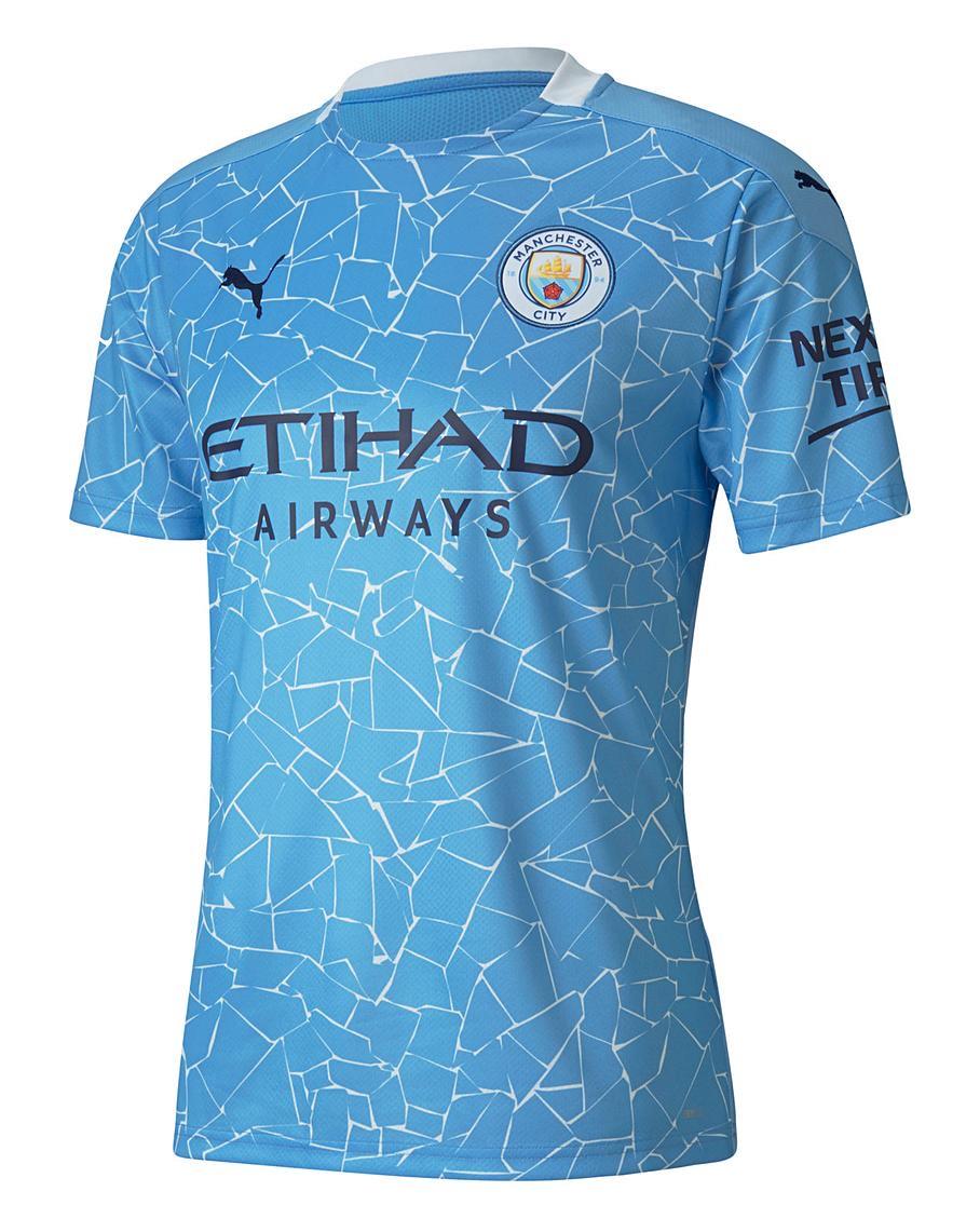 Manchester City Puma Home SS Jersey £32.50 @ Jacamo