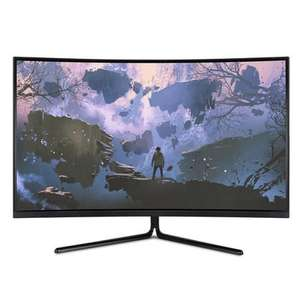 "electriQ 31.5"" 4K UHD HDR VA 350nits Curved Monitor, £229.97 at Laptops Direct"