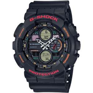 CASIO G-Shock Mens Analogue-Digital WatchGA-140-1A4ER reduced to £58.04 - Sold and despatched @ Amazon.
