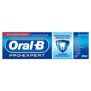 Oral-B Pro-Expert Professional Protection Toothpaste 125ml £3 @ Asda
