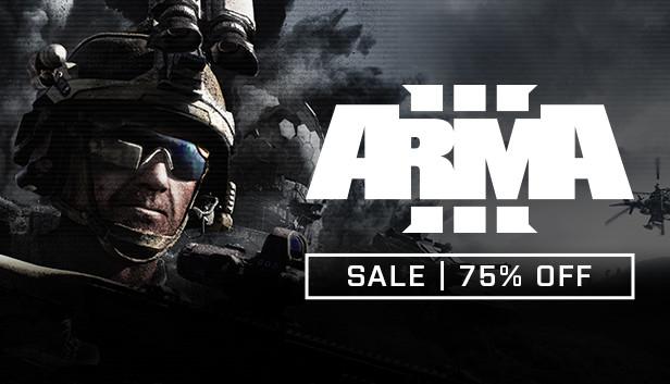 Arma 3 PC £5.99 at Steam