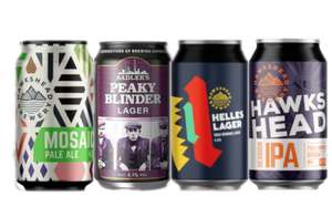 3x12 Packs Craft Lager IPA 36 cans for £35 free P&P @ Sadler's brewing Co