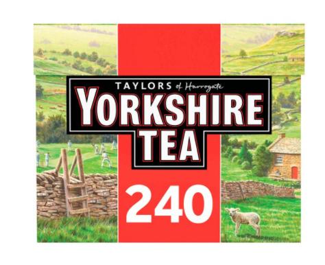 Yorkshire Tea 240 Tea Bags £4.50 @ Asda