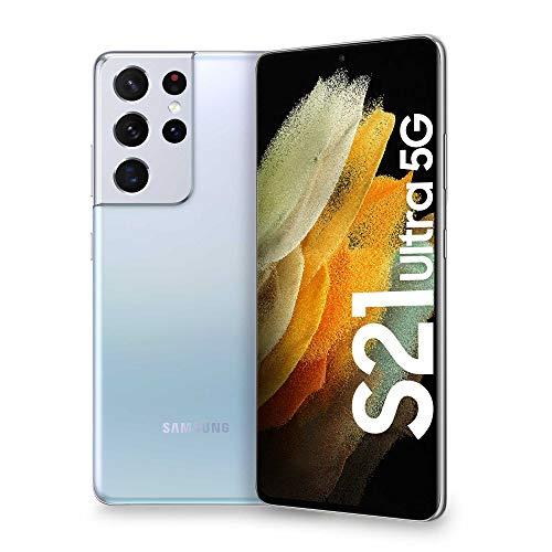 Samsung Smartphone Galaxy S21 Ultra 256GB 5G £779.20 ( £760.25 with fee free card ) using code @ Amazon Italy