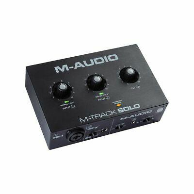 M-Audio M-Track Solo Audio Interface - £31.20 Using Code @ eBay / music-matter