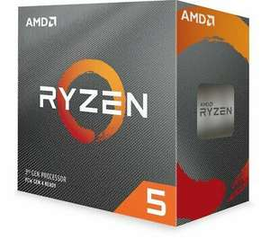 Ryzen 5 3600 CPU with Wraith Stealth Cooler, £161.50 delivered at Currys PC World / ebay (with code)