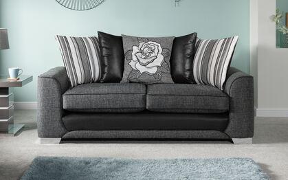 Monty 3 Seater Sofa Scatter Back now £343 delivered at SCS