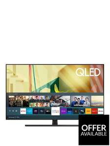 65 inch Samsung QE65Q70T 65 inch, QLED, 4K Ultra HD, HDR 1000, Smart TV £949 (£854.10 after 10% back to account on BNPL) @ Very