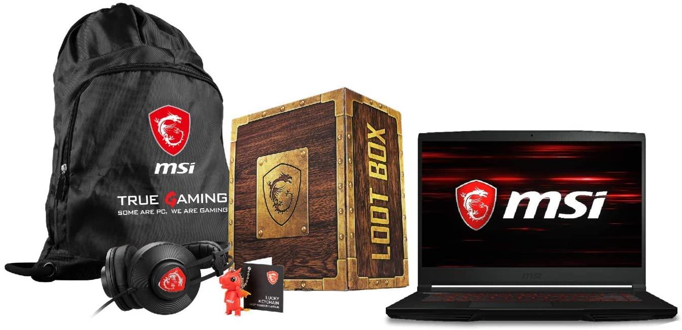 "MSI GF63 Thin 15.6"" FHD IPS i5-9300H GTX 1650Ti 8GB 256 SSD Gaming Laptop (Free Loot Box Pack) £569.97 at buyitdirectdiscounts/ebay"