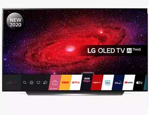 LG OLED55CX5LB (2020) OLED HDR 4K Ultra HD Smart TV, 55 inch £1198 (Possibly cheaper via pricematch) @ John Lewis & Partners