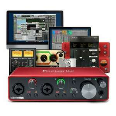 Focusrite Scarlett 2i2 3rd Gen USB Audio Interface + Software - £116.40 Using Code @ Music-Matter / eBay