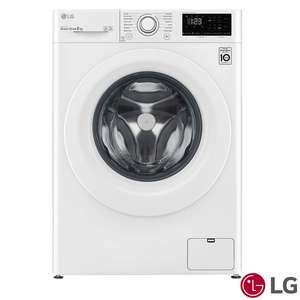 LG AI DD F4V308WNW Series 8kg 1400rpm Washing Machine - C Rated in White £274.89 delivered @ Costco