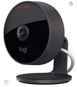 Logitech Circle View indoor/outdoor camera with HomeKit Secure Video, 180° Wide Angle, 1080p, Night Vision £119.94 @ Amazon