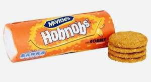 McVities Biscuits Hobnobs/Shortcakes/Ginger Nuts are 2 for £1 @ Farmfoods