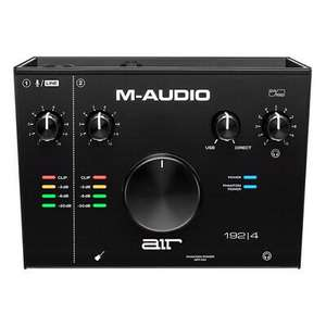 M-Audio AIR 192 4 2-In 2-Out 24/192kHz USB Audio Interface - £83.20 delivered using code @ music-matter / eBay