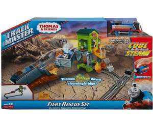Thomas & Friends Trackmaster Fiery Rescue Playset now £26.99 delivered (UK Mainland) @ Bargainmax