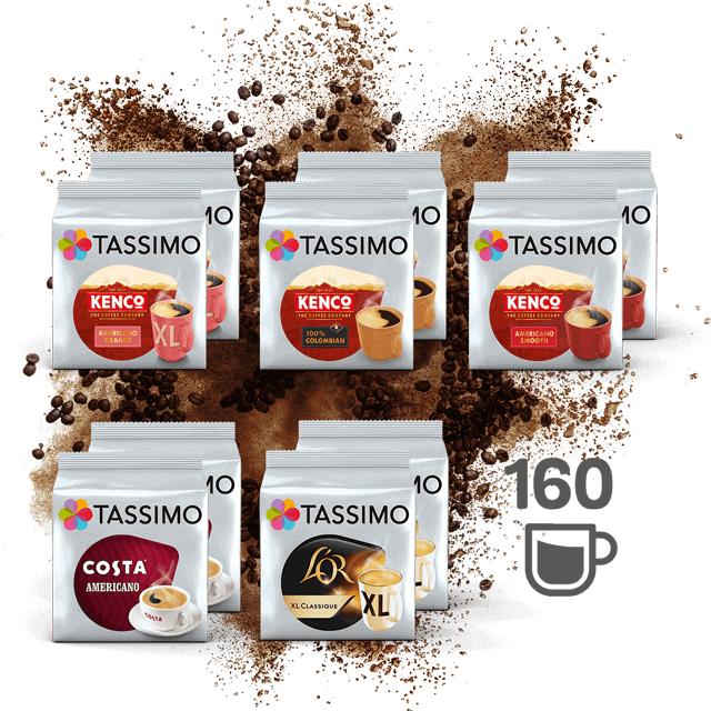 Best Of Black Coffee - 160 pods - £32.63 - Tassimo