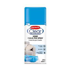 Bob Martin Clear | Flea Spray for the Home £2 / £1.90 S&S (Prime) + £4.49 (non Prime) at Amazon