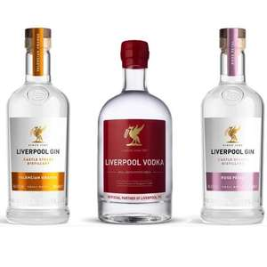 3x 70cl Liverpool Distillery Gins & Vodka (Mix and match) for £45 delivered (UK Mainland) @ The Drop Store