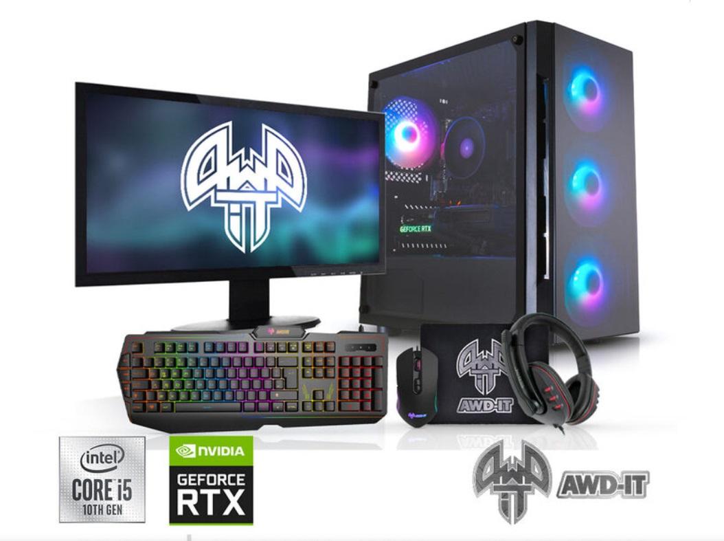 Intel 10400F + RTX3060 + Monitor / Keyboard package + 16GB Ram + 240/2TB Storage £1069.99 (Members Only) @ Costco.