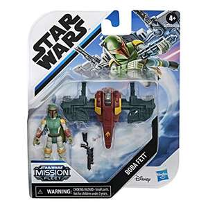 "Star Wars Mission Fleet Gear Class Boba Fett Capture in the Clouds 2.5"" Scale Figure and Vehicle £5.99 (Prime) + £4.49 (non Prime) at Amazon"