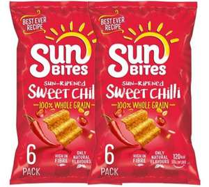 2 for £1 / 6x25g Walkers Sweet Chilli Sunbites Multipack instore @ Farmfoods
