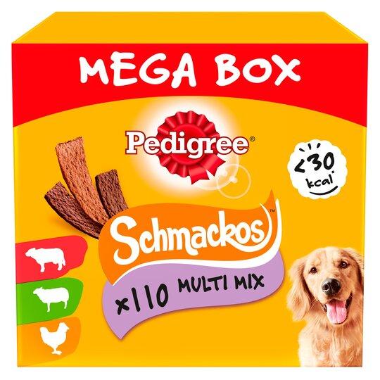 110 Pedigree Schmackos for £3.99 at Farmfoods Nottingham