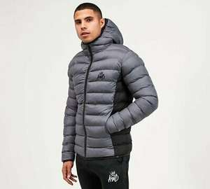 Kings Will Dream - Abor Puffer Jacket (Grey) Mens - £19.99 delivered (UK Mainland) with code @ footasylumoutlet / ebay