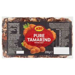 KTC Tamarind Slab 200g (£0.30 per 100g) - £0.60 (Minimum Basket / Delivery Fee Applies) @ Morrisons