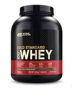 Optimum Nutrition Gold Standard Chocolate Whey, 1.67kg - £25.78 Members Only @ Costco