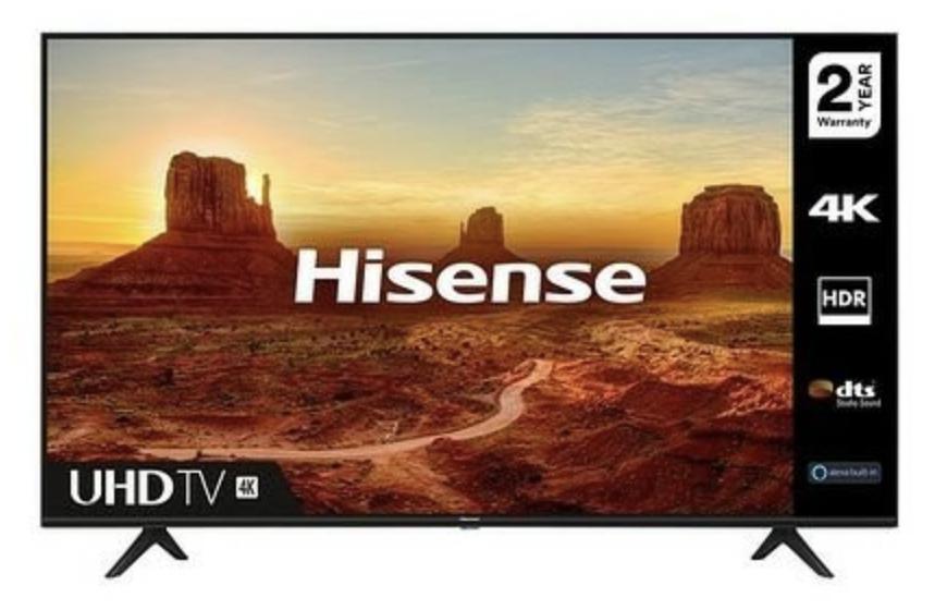 Hisense 55 Inch A7100 4K UHD HDR Smart TV - £399 @ Studio