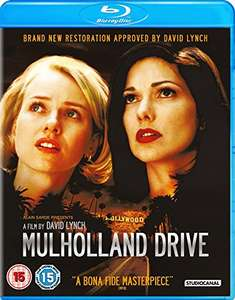 Mulholland Drive Blu-ray - Digital Restoration Approved by David Lynch - £7 (+£4.49 Non-Prime) @ Amazon