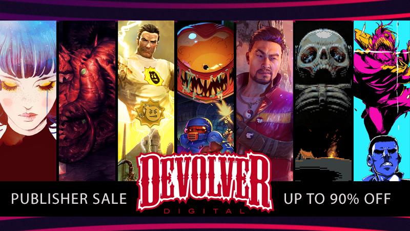 [Steam] Devolver Digital Publisher Sale - Up to 90% off @ Steam