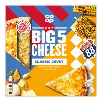 2 x Pizza + Garlic Baguettes + 12 x 330ml Budweiser for £10 @ Co-Op