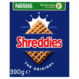 Shreddies The Original 390g £1 @ Asda