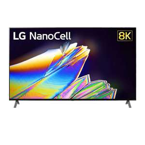 "LG 55NANO956NA 55"" Smart 8K Ultra HD HDR LED TV + Free HBSFN4 True Wireless Bluetooth Earbuds Free 5 Year Guarantee £849 RGB Direct"